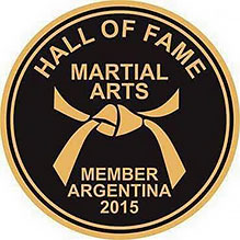 Martial Arts Hall Of Fame, Argentina 2015